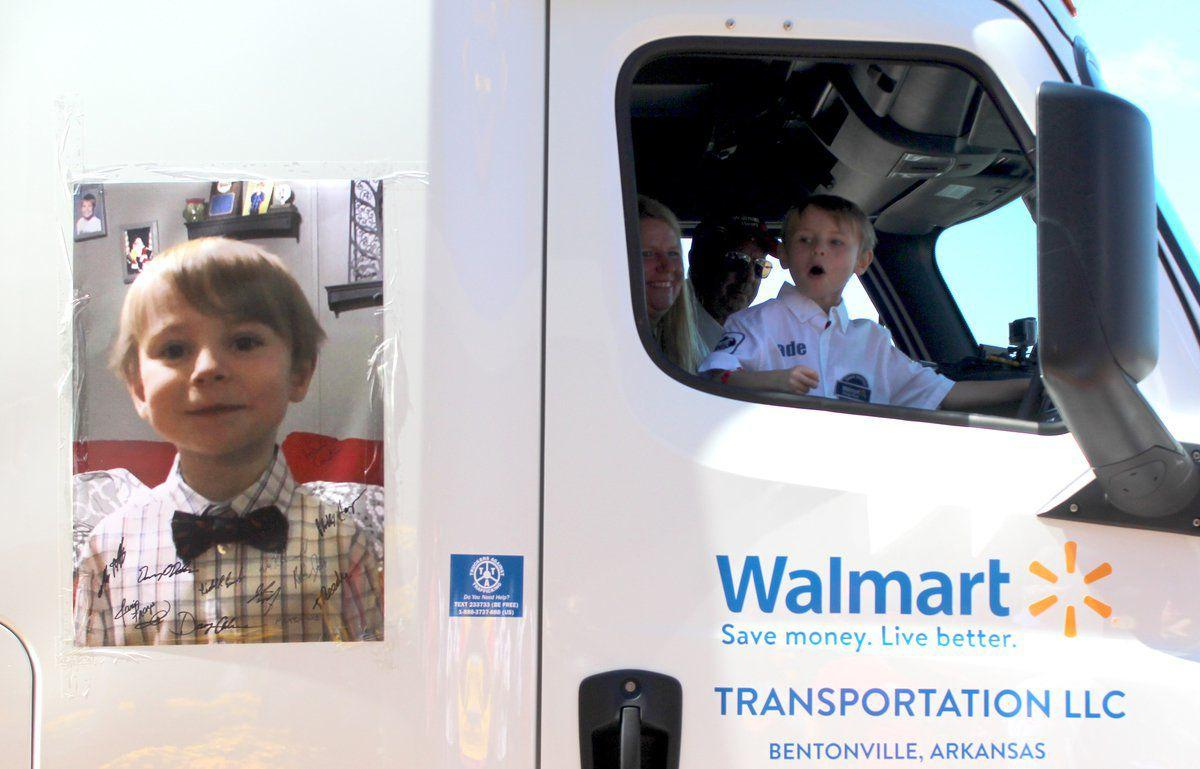 Motor-Cade: 'Walmart Heart' grants special day to local boy