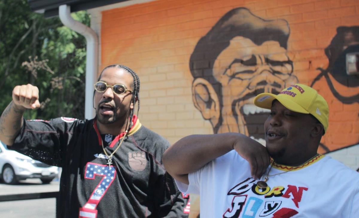 Paducah native rapper teams up with Houston legend