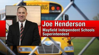 Joe Henderson Mayfield Independent Schools Superintendent