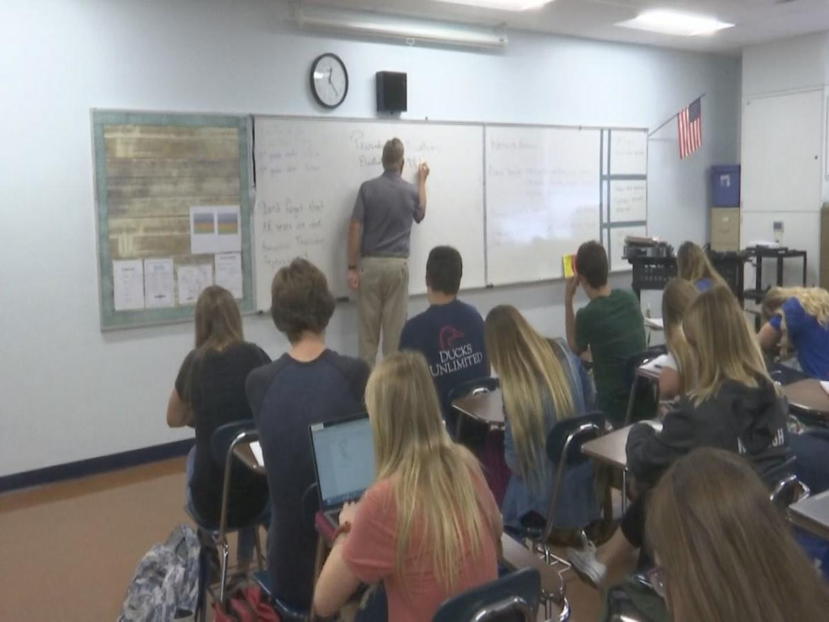 classroom in southern Illinois