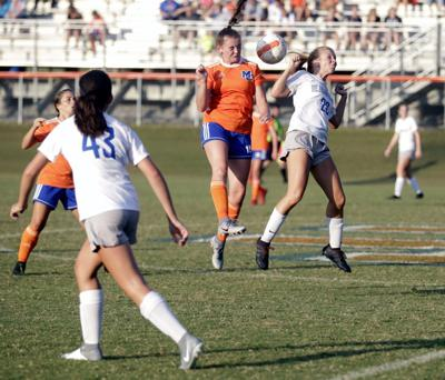 Lady Marshals, Marshals earn home soccer sweep