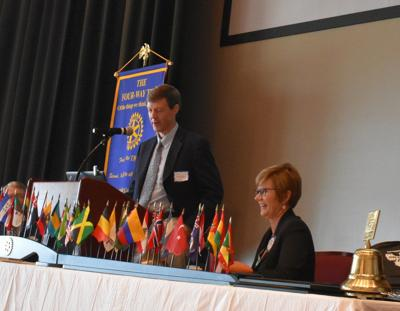 Hospice doctor urges Rotarians to talk about end-of-life care