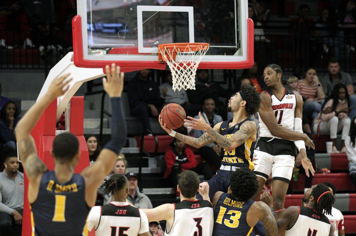 Late 3-pointer, defense help Racers stave JSU
