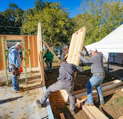 Local Habitat for Humanity raises walls for House No. 73