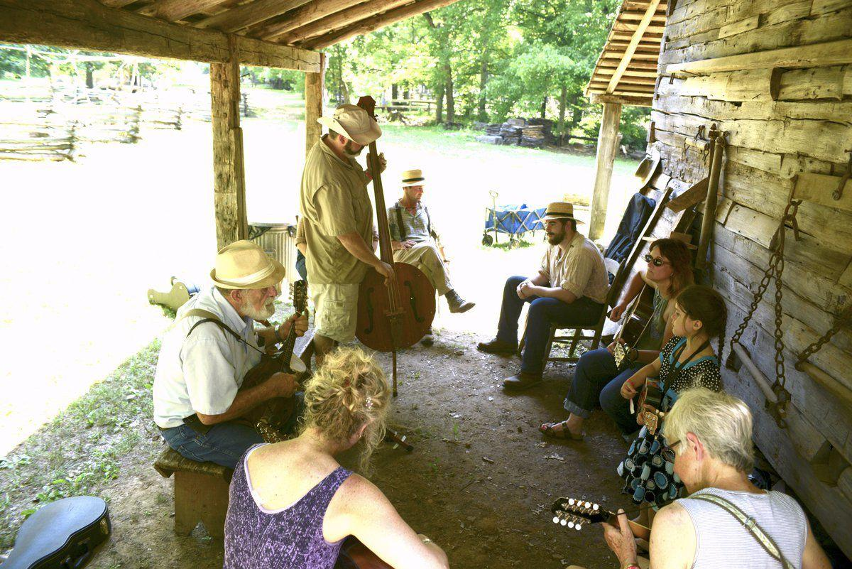 Homeplace farm hosts old-time music festival