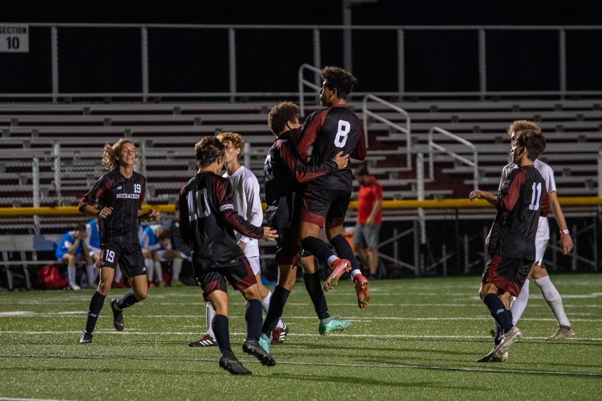 McCracken County soccer celebrates goal