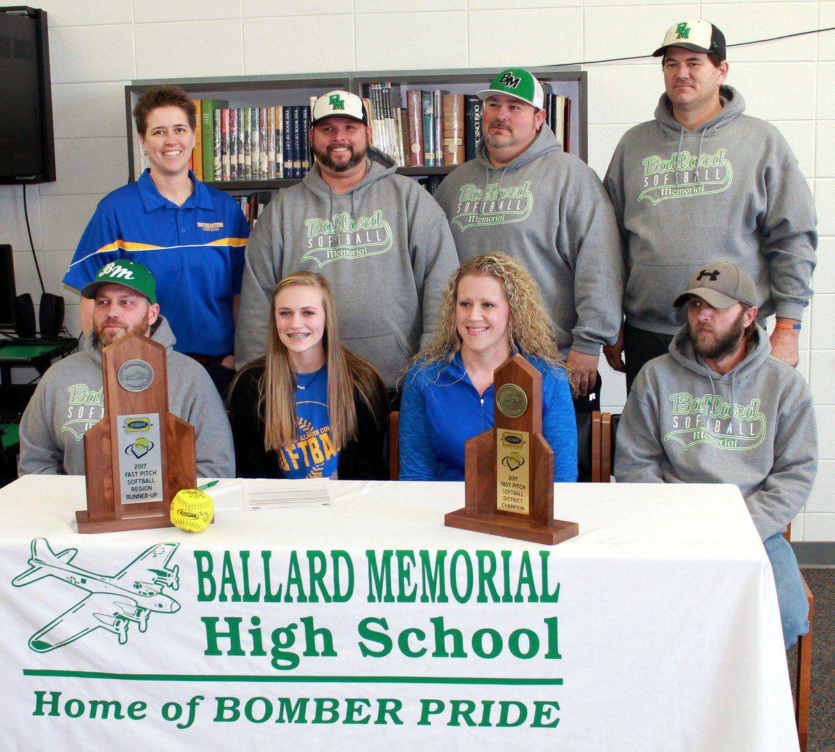 ballard memorial's elrod signs with southeastern illinois | sports
