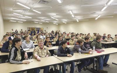 Local scouts host Merit Badge College