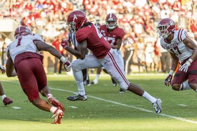 Alabama WR Jeudy off to fast start