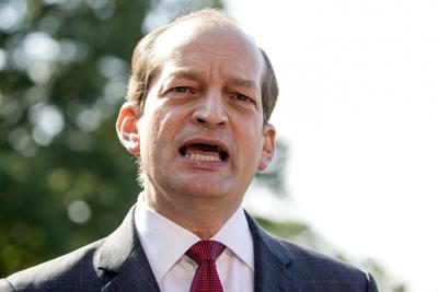 Labor Secretary Acosta resigns