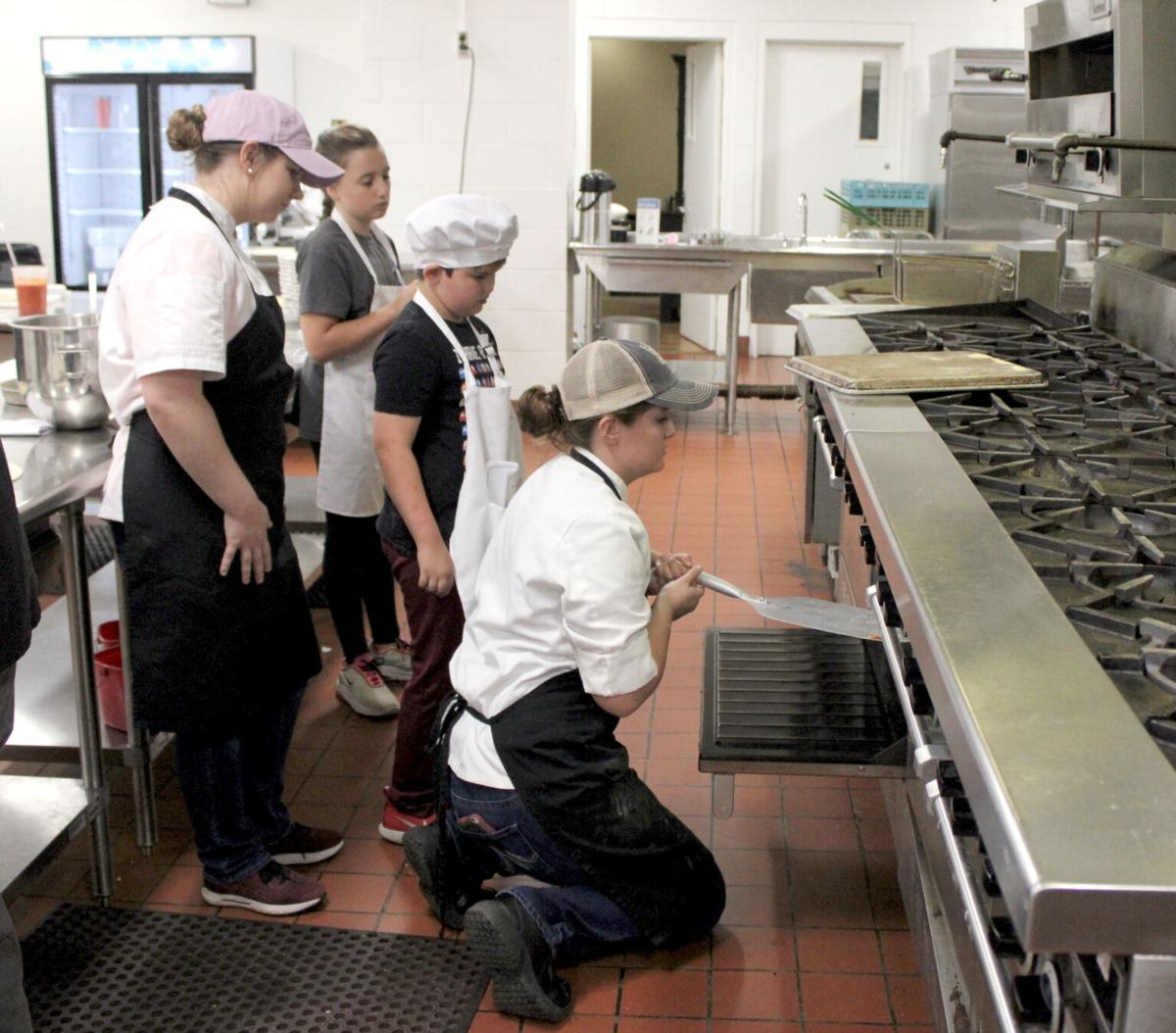 WKCTC culinary camp teaches to everyone's taste
