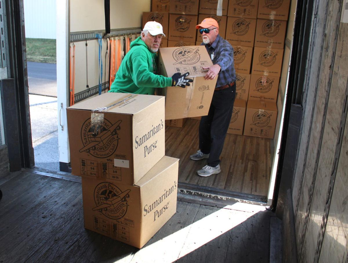 Princeton church collects more than 5,000 shoeboxes for children