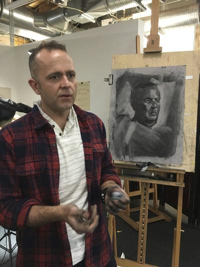 Portrait painter from New York leaves impression on local art scene