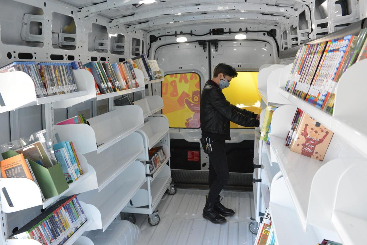 All aboard the Brary Bus: McCracken library's bookmobile service to start May 1