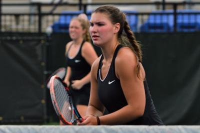 'Three Amigos': Lady Mustang tennis seniors talk missed season