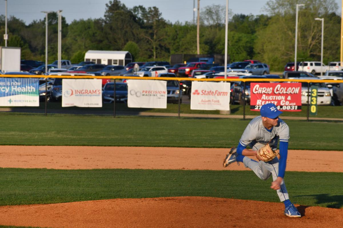 Justin West strikes out 20 Mustangs