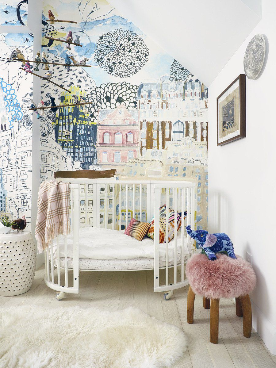Creating an eco-friendly nursery, from paint to fabrics