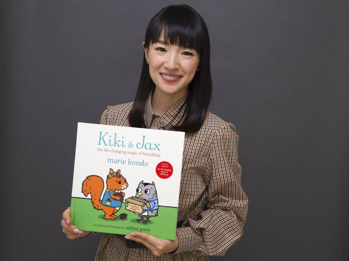 Marie Kondo's doing what she can to make your kids tidy