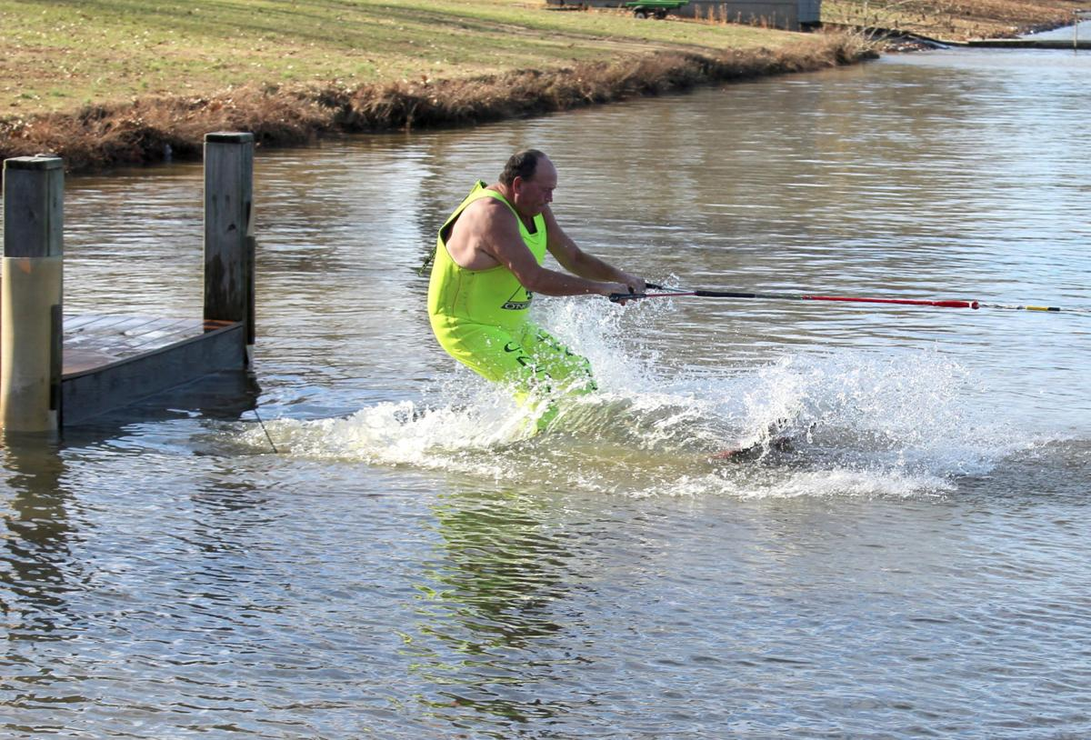 Bobby Hill of Murray gets the new year off on the right ski