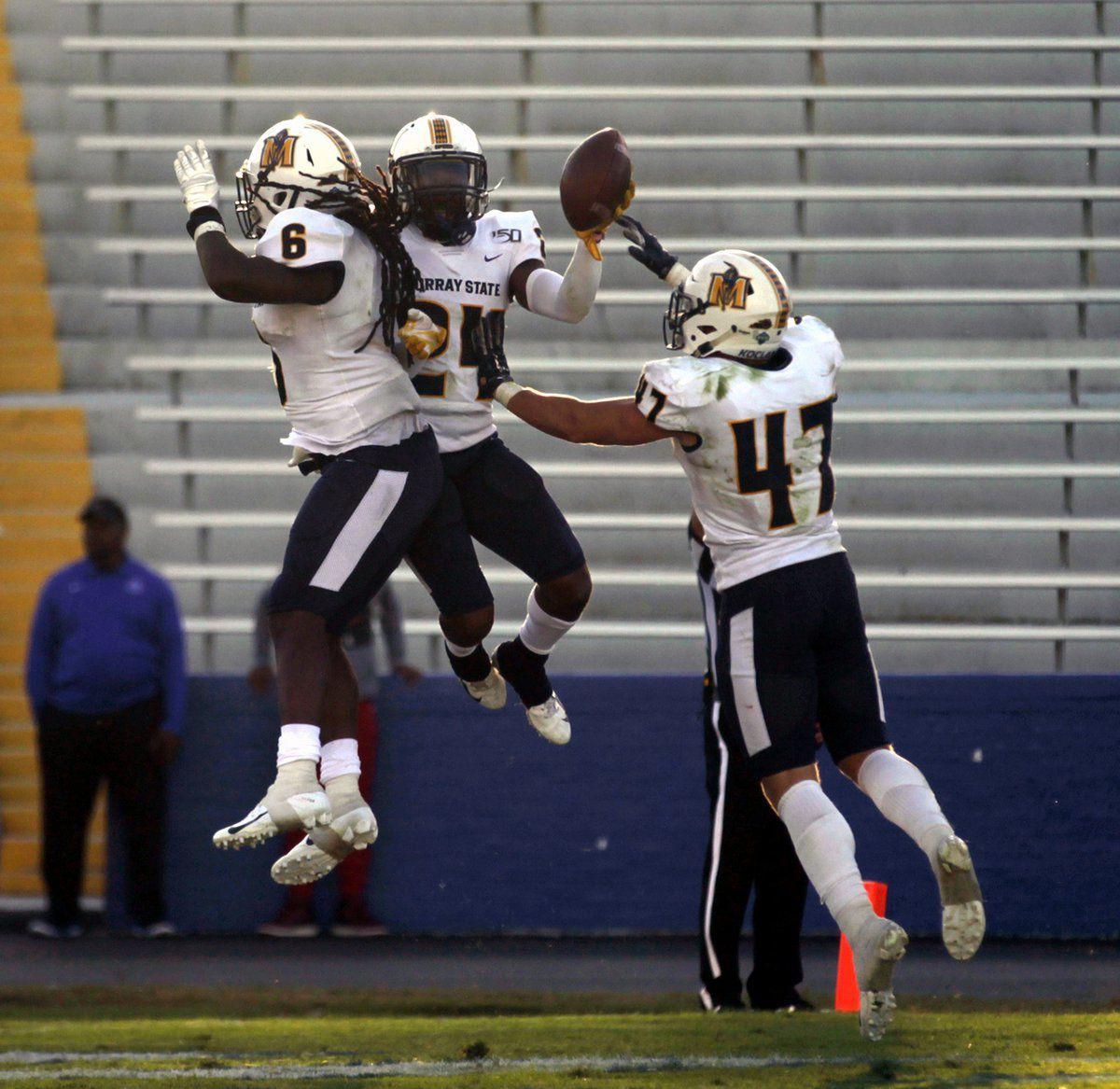 Murray State forces 5 turnovers, tops Tigers