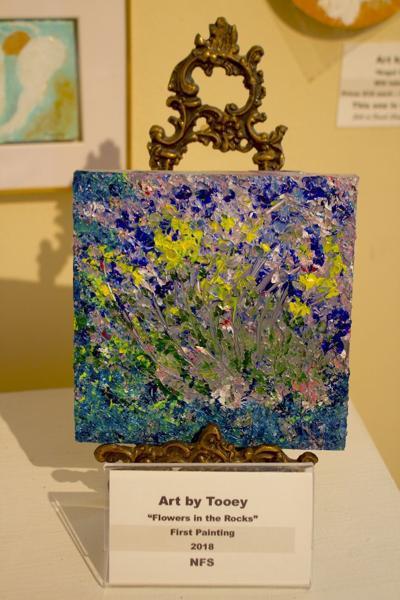 """Teresa """"Tooey"""" Dorroh at Princeton Art Guild"""