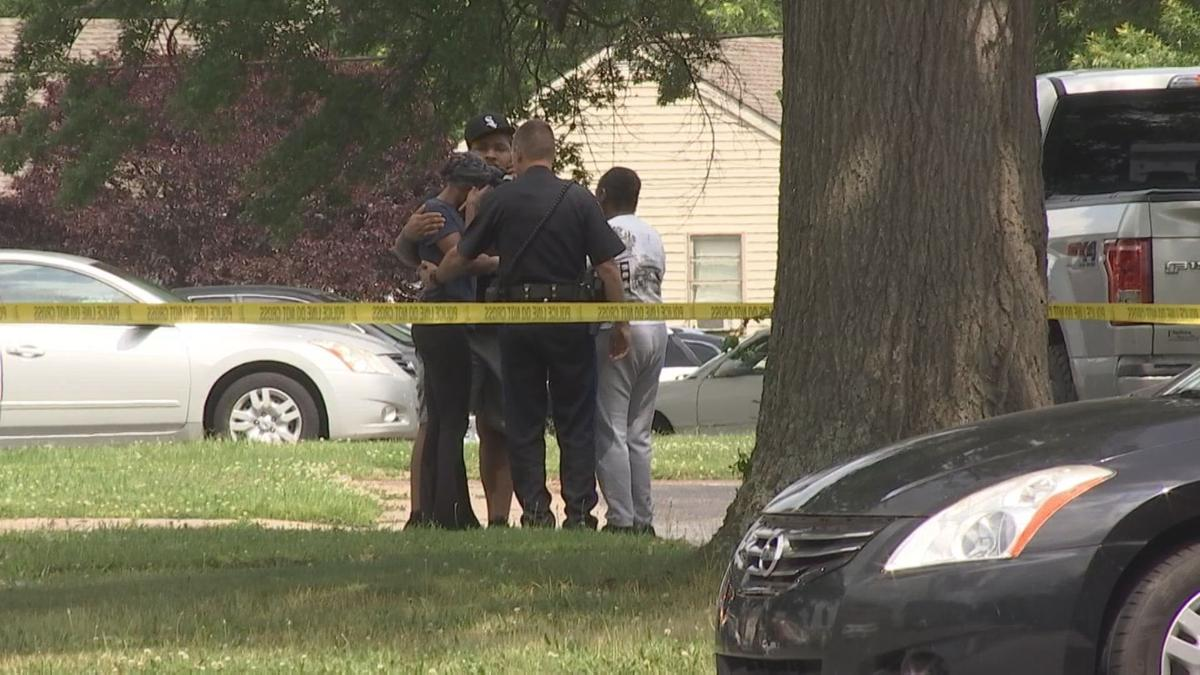 Shooting Thursday afternoon in the corner of Elmdale Road and Jameswood Drive