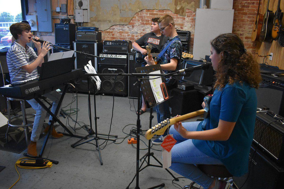 School of Rock students to kick off festival
