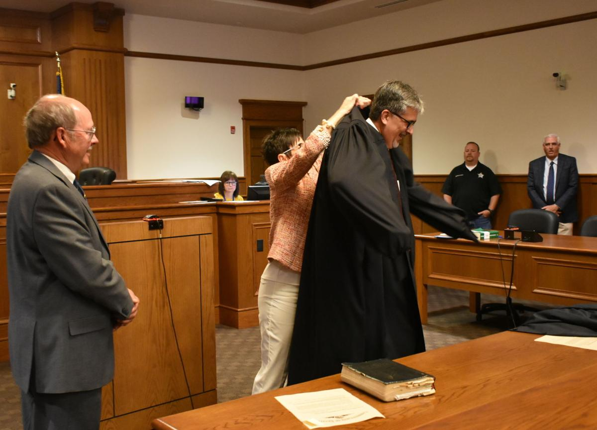 District Judge Mark Medlin