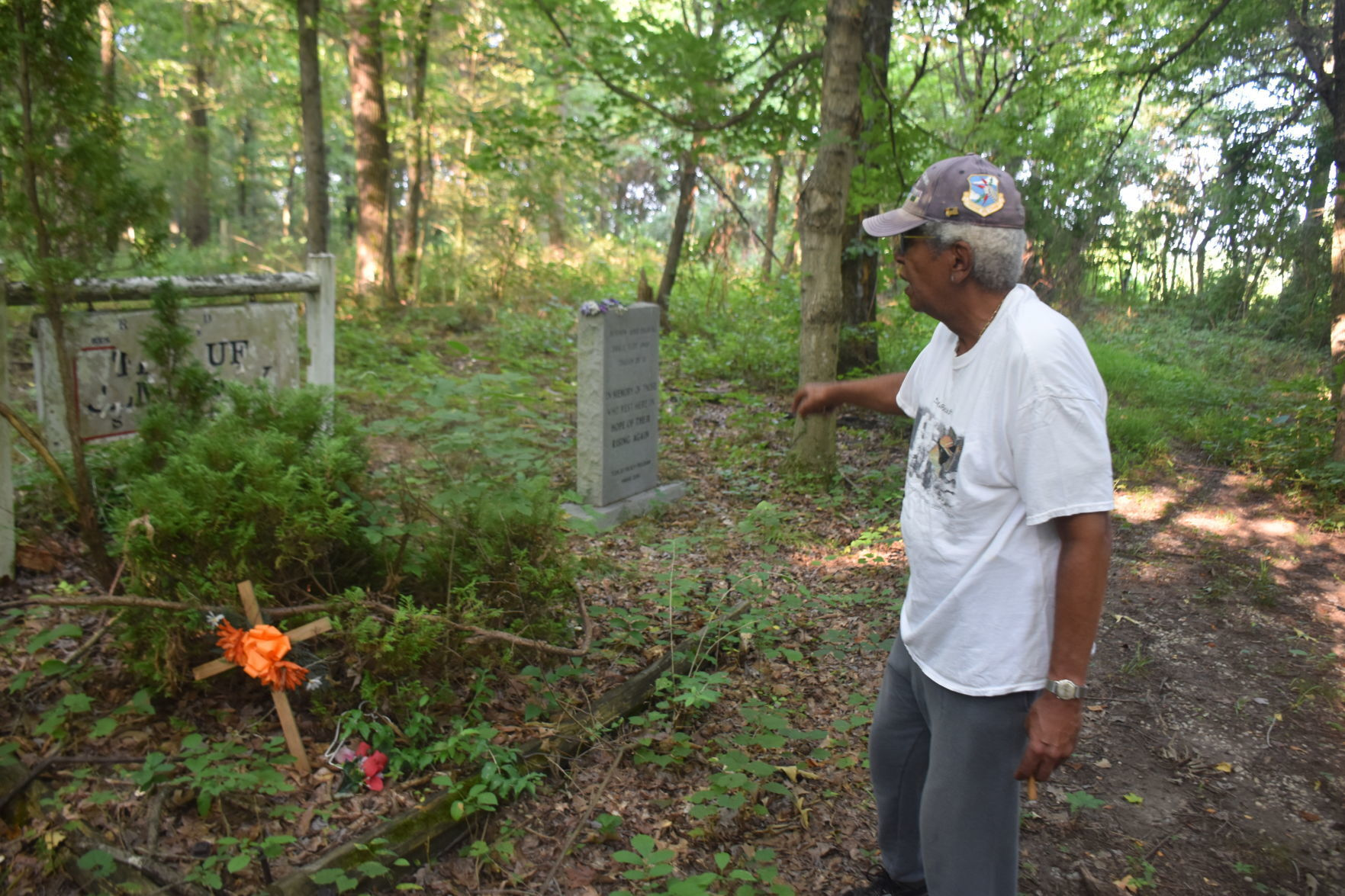 Efforts to restore African American cemetery continue
