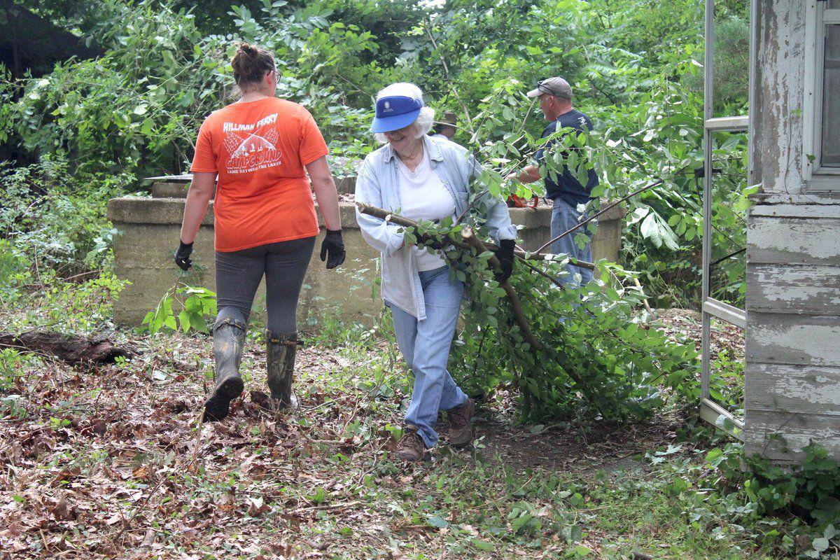 Families work to restore LBL 'Caretaker' house