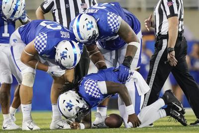 UK's Wilson out for season with torn patellar tendon