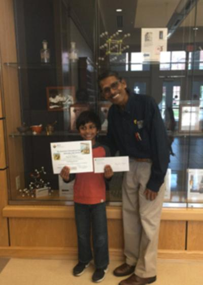 Young St. Mary chemist wins national Earth Day award
