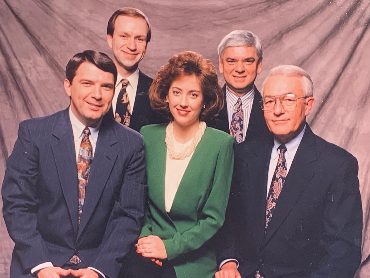 McIntosh with news team