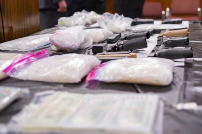 Seized drugs, guns, cash benefit law enforcement | Local