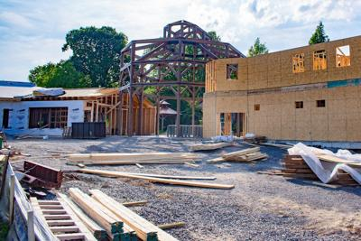 Patti's building taking shape