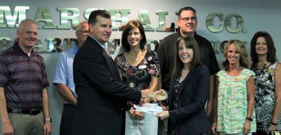 State Treasurer Ball returns $4,922 to Marshall County