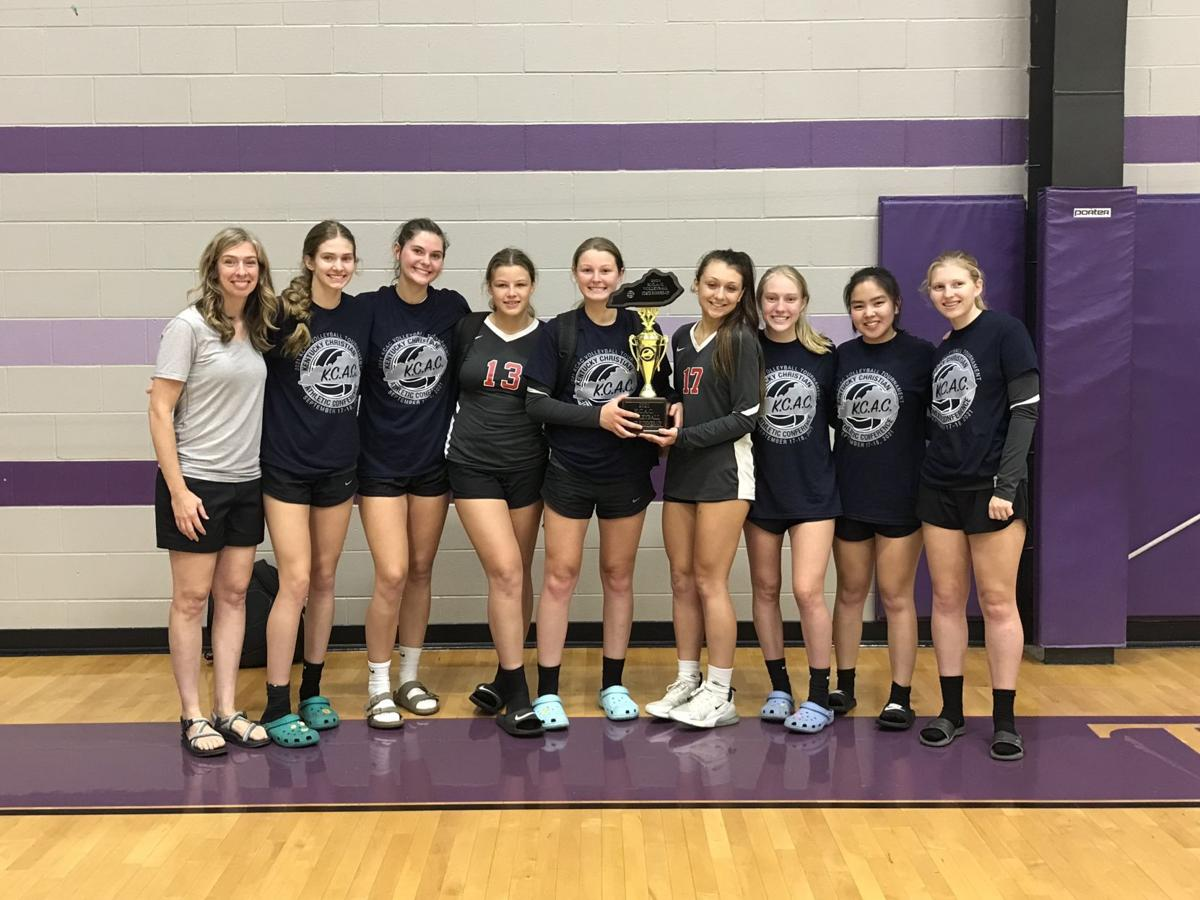 Christian Fellowship volleyball team