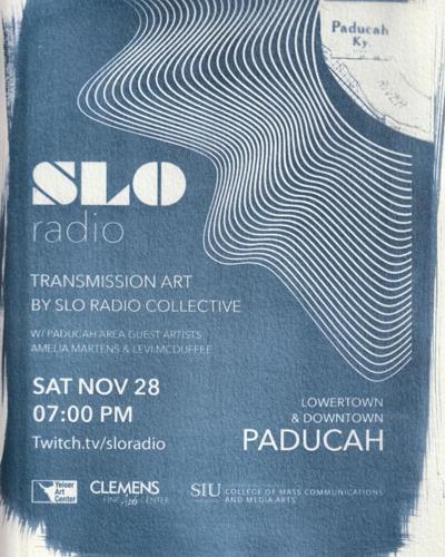 Experimental art radio show to broadcast downtown Saturday