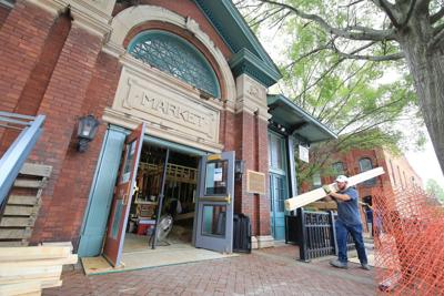 Market House renovations on track for start of season