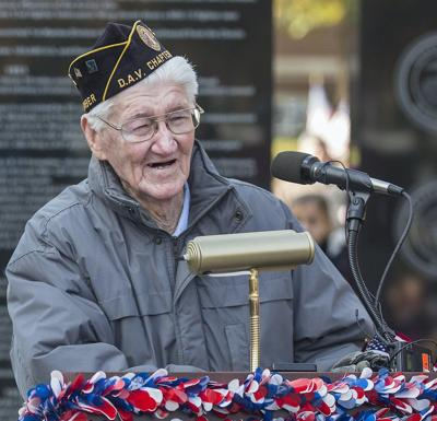 For the second time, two veterans to receive award