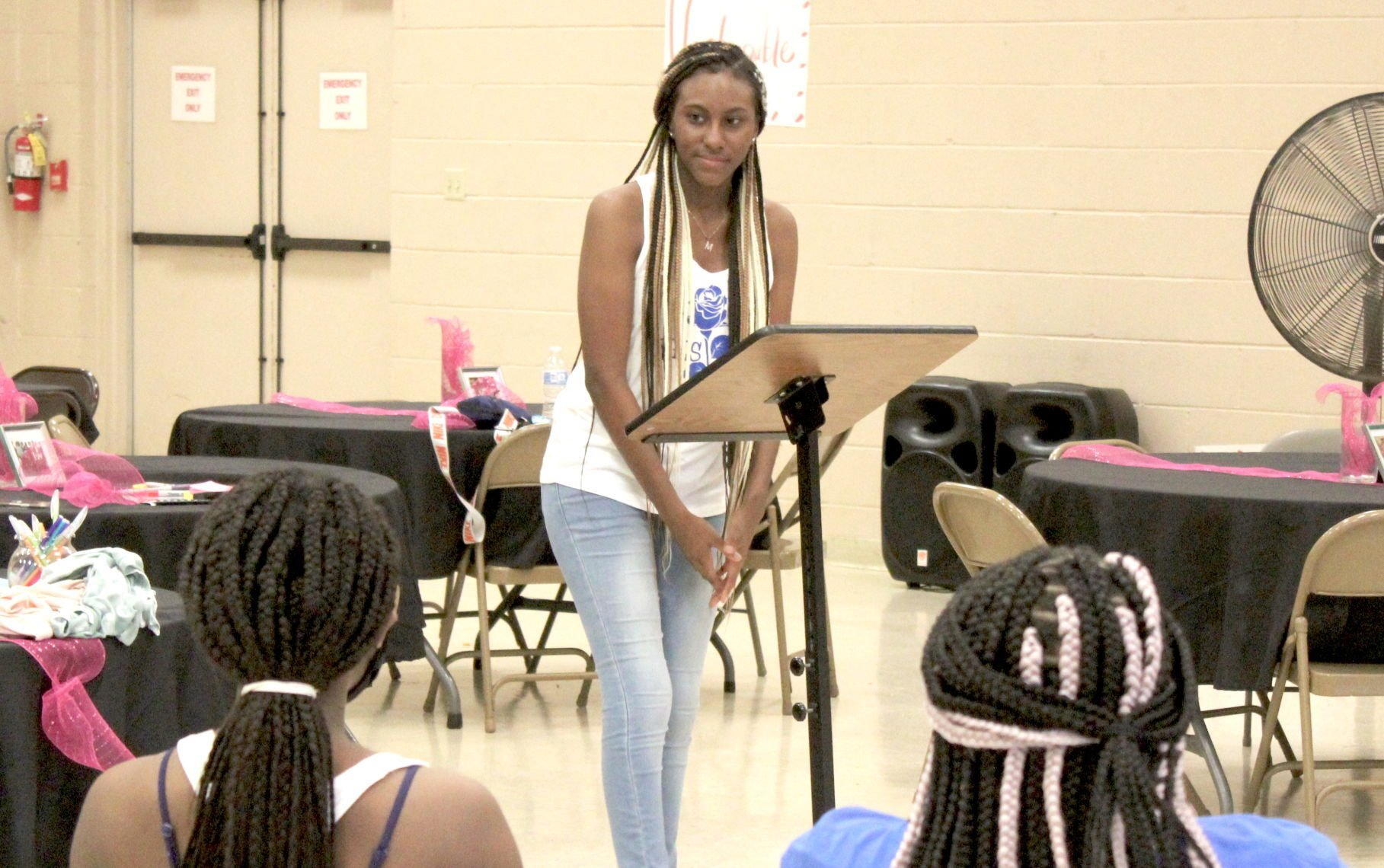 Organization seeks to instill pride and confidence in teen girls