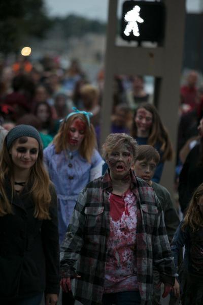 Zombie Walk returns on Saturday