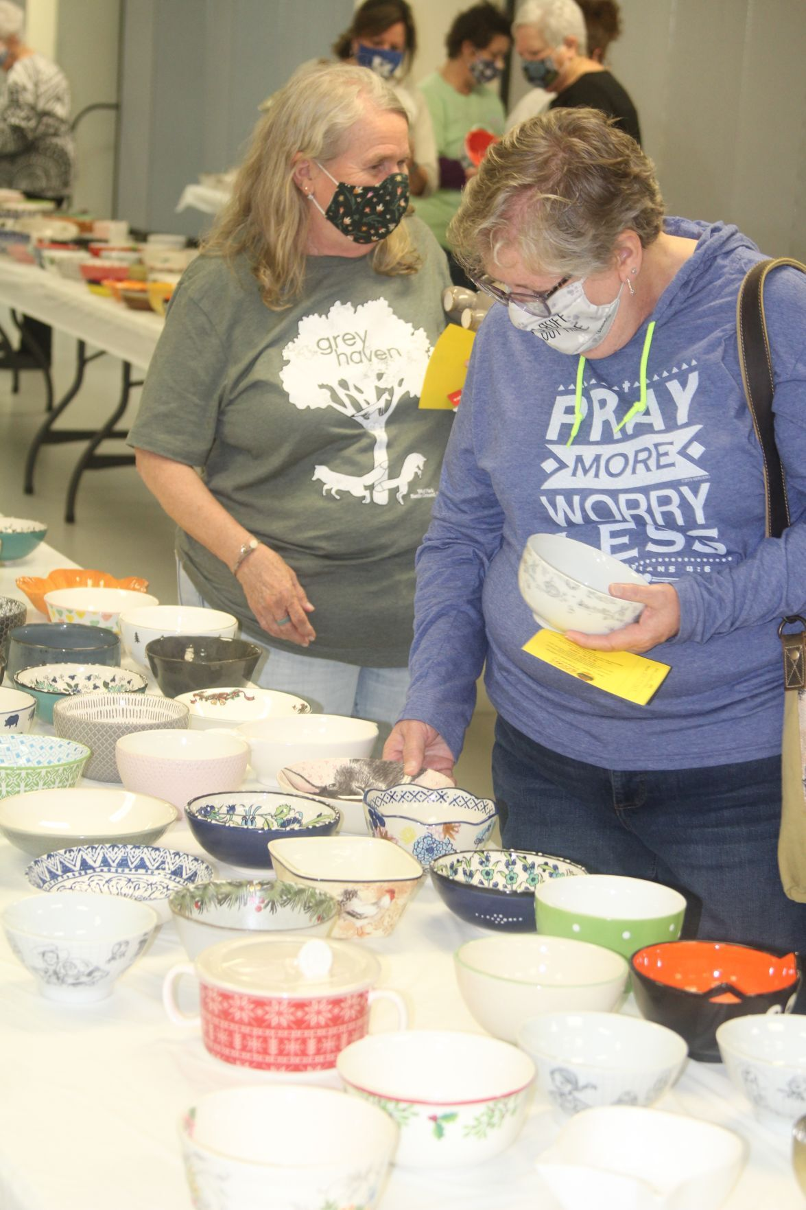 Empty Bowls Project scoops in more than $15,000