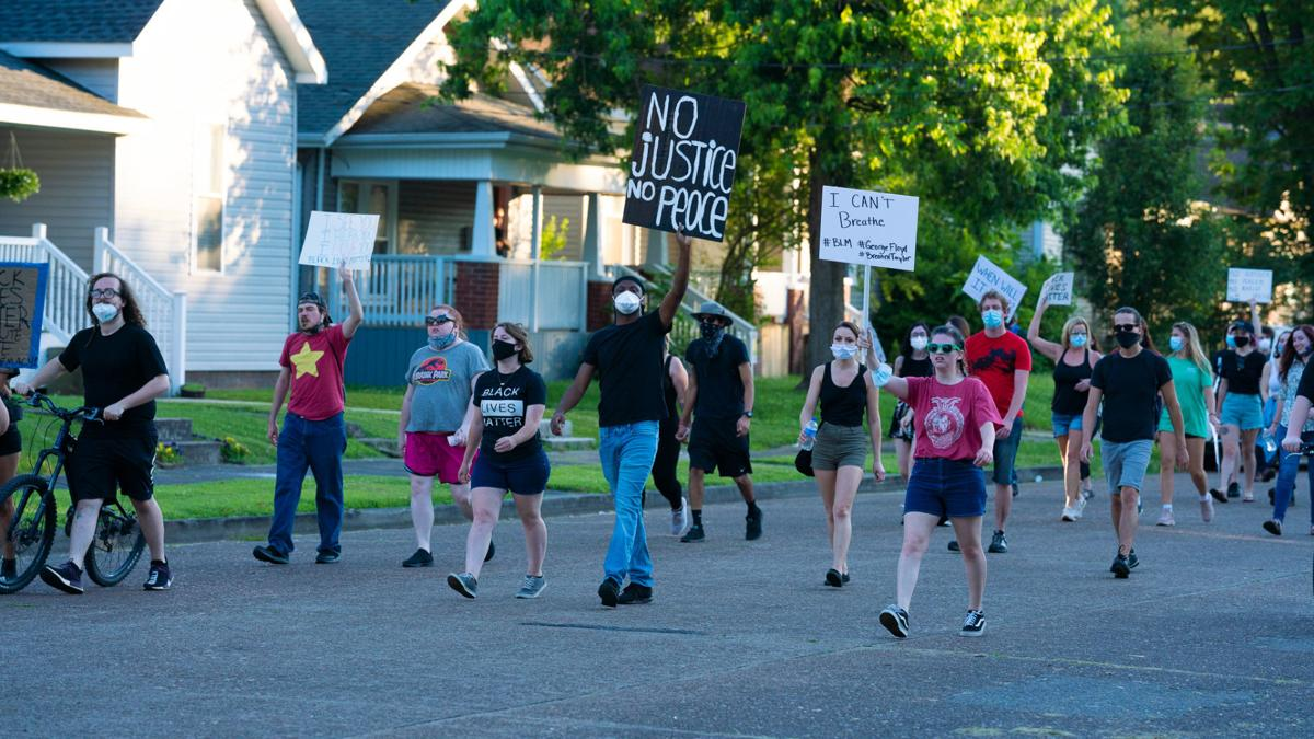 Protests remain peaceful on second day