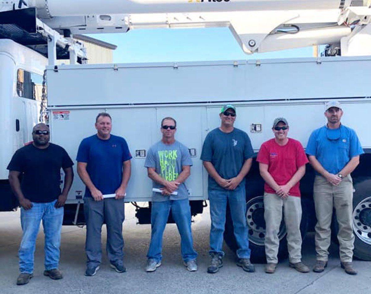 Paducah crews aid in Barry recovery
