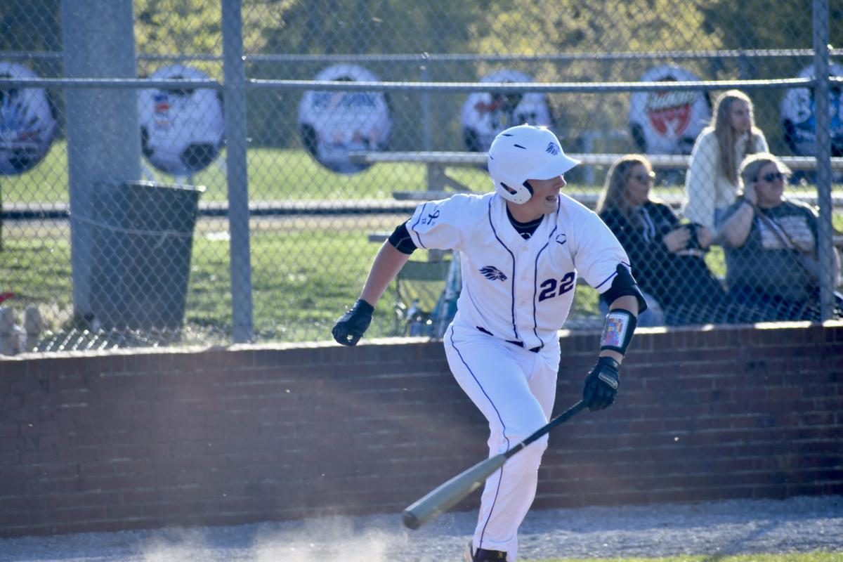 Brody Williams singles on a ground ball to center