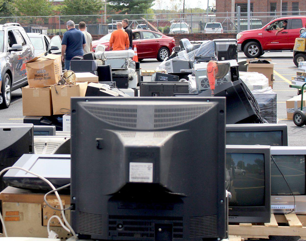 Paducah Power collects e-scrap in annual event