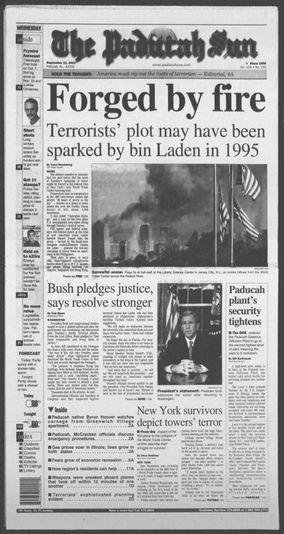 Local reporters, anchor recall impact of 9/11