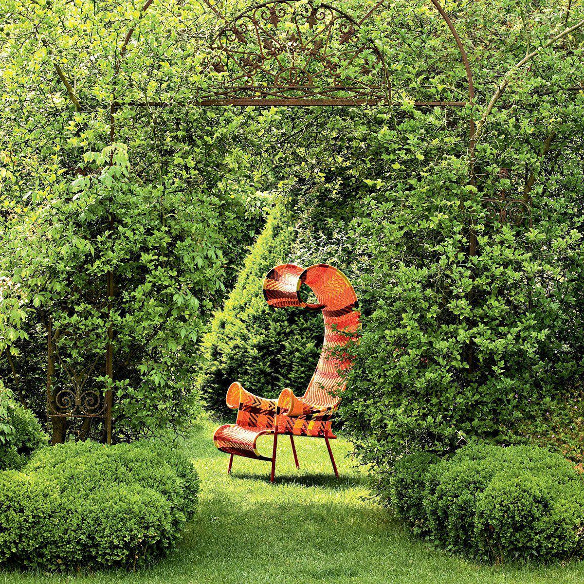Here's outdoor decor that's 'out there' and edgy