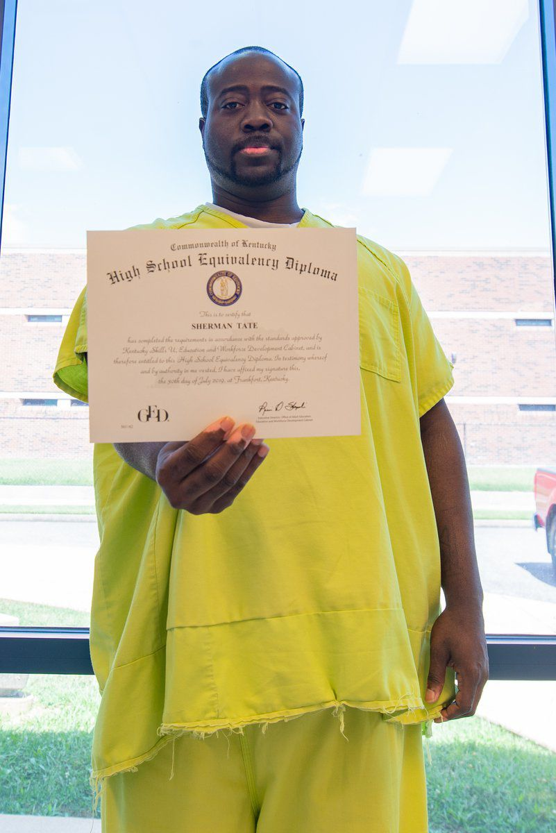 'Anything's possible' Recent inmate GED grad, jailers talk second chances
